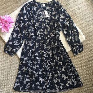 Gap NWT Floral Dress Size L